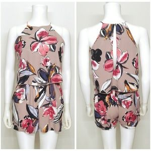 Tyche Floral Romper Size Small